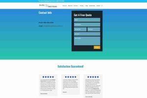 moving business wordpress web design
