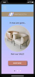 interactive app prototype